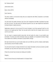 Kindergarten Cancellation Letter company termination letter city espora co