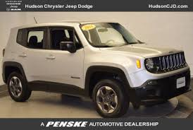 jeep renegade used used jeep renegade at hudson toyota serving jersey city bayonne