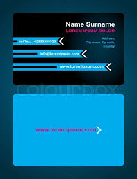 back business card business card creative design style print front and back