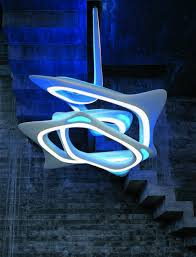 Futuristic Design Impressive Visual Effects Of The Vortex Chandelier Futuristic News