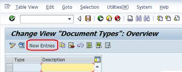 sap document types table how to define document types in sap fico document types sap sapspot