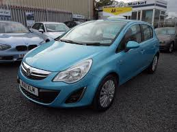 vauxhall corsa blue used vauxhall corsa for sale west midlands