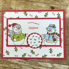 countdown to christmas card