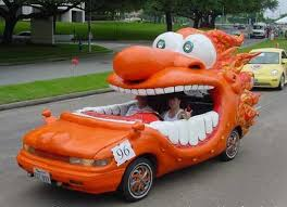 orange cars funny bizarre cars food beautiful funny food beautiful funny