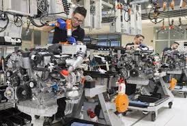 bmw factory assembly line mercedes amg to start new engine production line to meet demand
