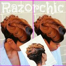 hot atlanta short hairstyles oooh that s sharp razor chic learning and hair style