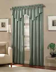 Livingroom Valances L Shaped Living Room Glass Window Using Gold Wave Shape Valance