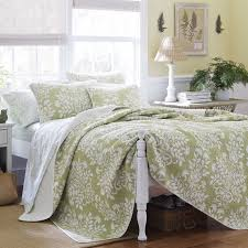king size coverlets and quilts sage green quilt set