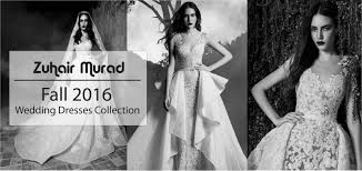 wedding dress designer indonesia zuhair murad fall 2016 wedding dresses collection glowlicious me