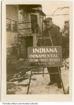 indiana memory with indiana ornamental iron sign works