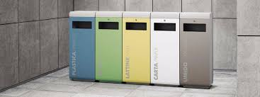 ecoside recycling bin street furniture uk