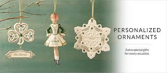 ornaments personalized lenox