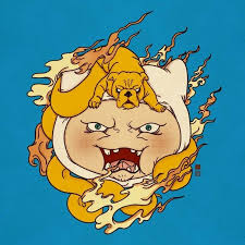 rad adventure time tattoos in traditional japanese style tattoodo
