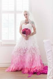 feather wedding dress ombre feather wedding dress by robinette project sewing