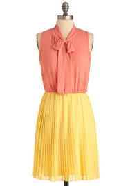7 chic color block dresses for summer fashion