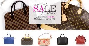 reebonz louis vuitton knockout sale further 25 with coupon