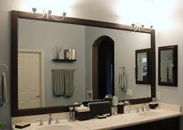 Large Bathroom Mirror Ideas - elegant large framed bathroom wall mirrors with wall mirror extra