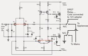 ups circuit diagrams circuit diagram images