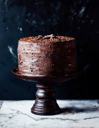 double dark chocolate cake the sticky spatula