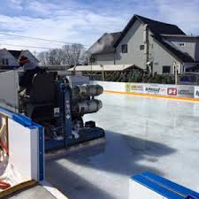 Hockey Rink In Backyard by Backyard Ice Rink Custom Ice Rinks Toronto First Line Rinks