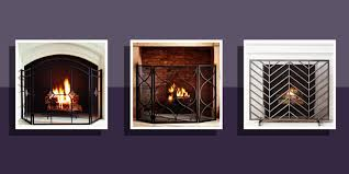 10 best fireplace screens for winter 2017 decorative metal