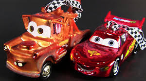 cars 2 hallmark ornaments mater and lightning mcqueen