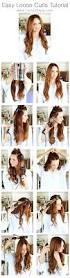 best 20 hair waves tutorial ideas on pinterest easy curls hair