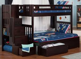Bunk Bed With Play Area by Viv Rae Twin Over Full Bunk Bed With Staircase With Storage