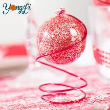 diy fillable plastic craft ornaments 50mm clear acrylic