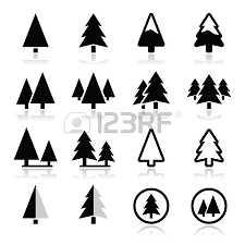 tree silhouette pine tree clipart panda free clipart images