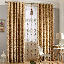 Patterned Blackout Curtains High End Smooth Suede Patterned Blackout Curtains Bedroom Living Room