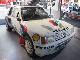 peugeot 205 group b file peugeot 205 turbo 16 rallye evo1 01 jpg wikimedia commons