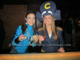 homemade captain crunch halloween costume for a woman