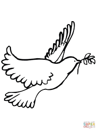 dove fly coloring page printable pages click the animal a mintreet