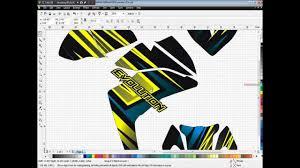 custom motocross helmet wraps how to create a custom motorsport graphics design youtube