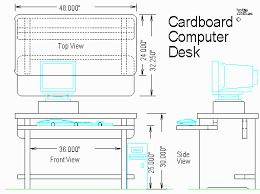 How To Make A Cardboard Desk Woodware Cardboard Computer Desk