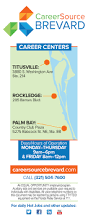 Map Of Palm Bay Florida by Careersource Brevard Announces New Titusville Career Center