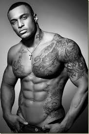 black polynesian chest tattoos in 2017 photo pictures