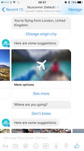 chat your way to your next trip skyscanner launches facebook