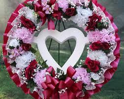 cemetery wreath etsy