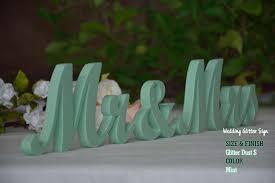 mint green wedding mr mrs mint mint green wedding decorations gold sign