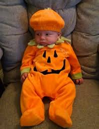 Baby Halloween Pumpkin - halloween costume ideas for the whole family pen and parent