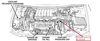 chrysler sebring questions bleeder valve for coolant cargurus