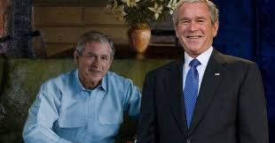 george w bush to release an art book because 2016 is a surreal