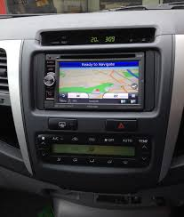 kenwood dnx 4250dab double din install in toyota hilux 61 reg