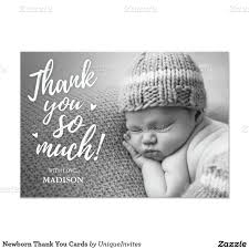 newborn thank you cards babies birth and baby baby
