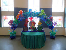 party rental little mermaid ariel decoration