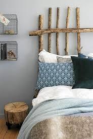 chambre nature du bois pour décorer une chambre nature