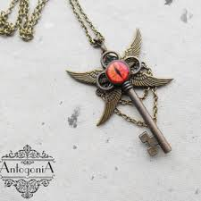 key necklace charms images Shop steampunk dragon jewelry on wanelo jpg
