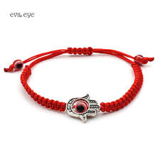 evil eye charm bracelet images Evil eye red bracelet for woman braided red chain bracelet women jpg
